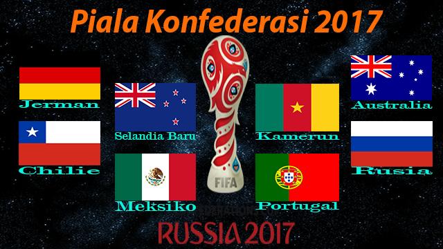 Piala Konfederasi 2017 Rusia Akan Di Buka Sabtu 17 Juni 2017