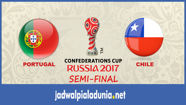 prediksi portugal vs chile semifinal