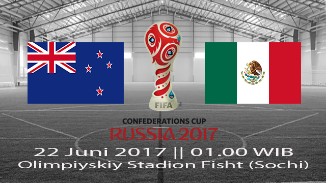 Prediksi Meksiko vs Selandia Baru 22 Juni 2017