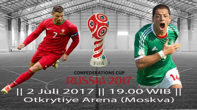 Prediksi Portugal vs Meksiko, Perebutan Tempat ketiga Piala Konfederasi 2017