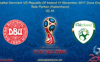 Prediksi Denmark VS Irlandia 11 November 2017 Zona Eropa