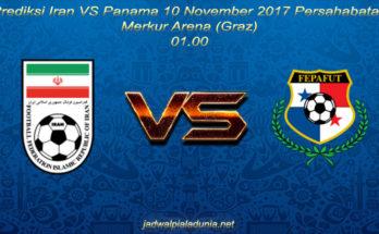 Prediksi Iran VS Panama 10 November 2017 Persahabatan