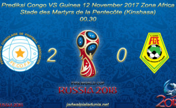 Prediksi Congo DR VS Guinea 12 November 2017 Zona Africa