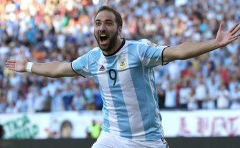 Higuan Tidak Terdaftar Dalam Pertandingan Playoff Argentina