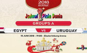 Prediksi Bola Mesir vs Uruguay 15 Juni 2018