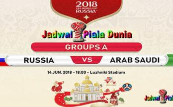 Prediksi Bola Rusia vs Arab Saudi 14 Juni 2018