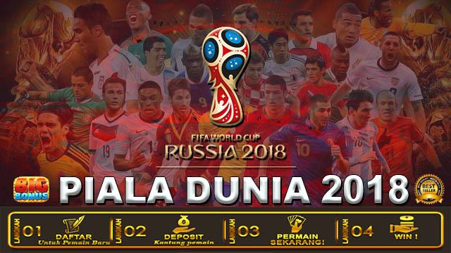 Judi Piala Dunia 2018 Terpercaya Dengan Bonus Jutaan Rupiah